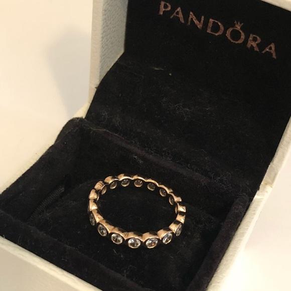 470ad62d0 Rose Gold Pandora Alluring Brilliant Ring. M_5b3132833e0caaf51fb28fe6